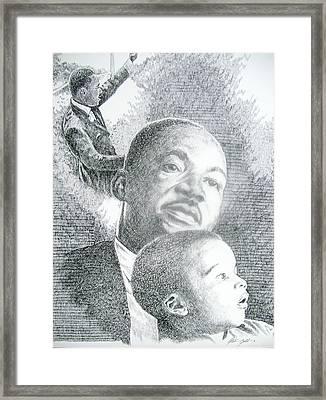 dreaming II Framed Print by Otis  Cobb