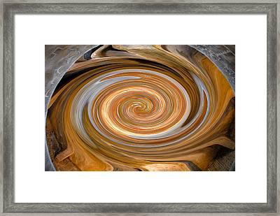 Dreaming In Hopi Land Framed Print by David Lee Thompson