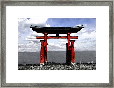 Dreaming In Japan Framed Print by David Lee Thompson