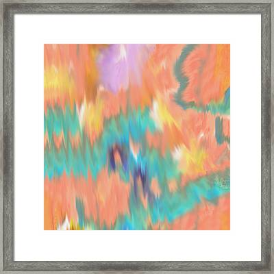 Dreaming In Watercolor Framed Print by Bill Cannon