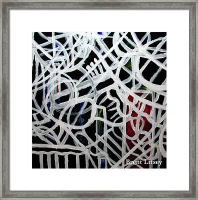Dreaming Framed Print by International Artist Brent Litsey