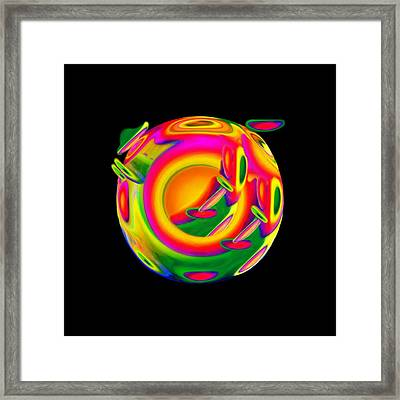 Dreaming Framed Print by Jacqueline Migell