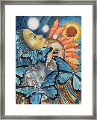 Dreaming Framed Print by Kimberly Kirk