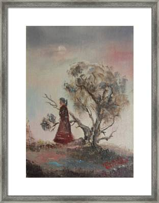Dreaming Framed Print by Lillian Claxton
