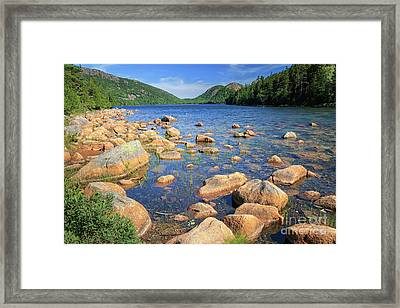 Dreaming Of Acadia Framed Print