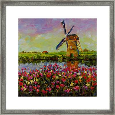 Dreaming Of Holland Framed Print