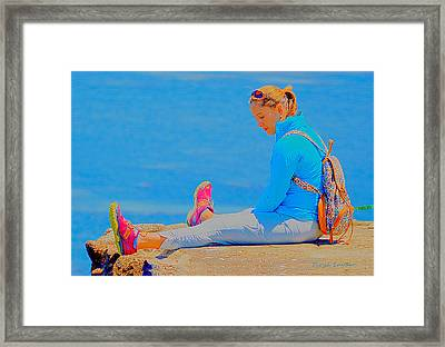 When You Fall In Love 3 Framed Print