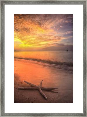 Dreaming Of Pensacola Beach Framed Print by JC Findley