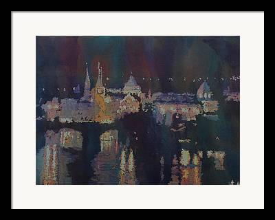 St Charles Bridge Framed Prints