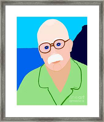 Dreaming Of Retiring To Hawaii Framed Print