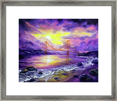 Dreaming Of San Francisco Framed Print