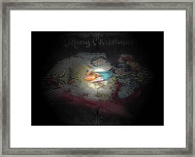 Dreaming Of Santa Framed Print