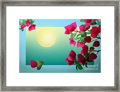 Dreaming Of Spring Framed Print by Bedros Awak