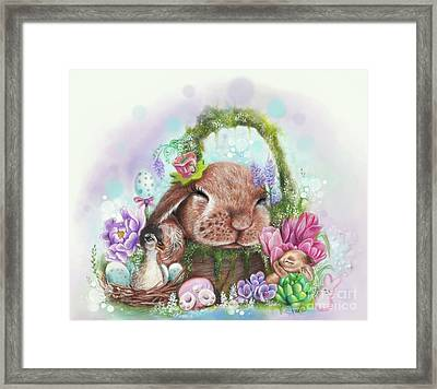 Dreaming Of Spring - Dreaming Of Collection  Framed Print