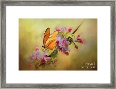 Dreaming Of Spring Framed Print by Eva Lechner