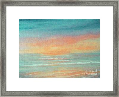 Dreaming Of Summer Framed Print by Holly Martinson