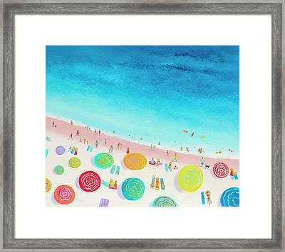 Dreaming Of Sun, Sand And Sea Framed Print