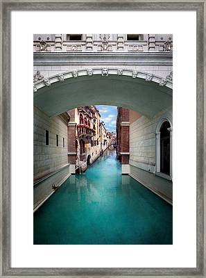 Dreaming Of Venice Framed Print