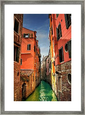 Dreaming Of Venice  Framed Print by Carol Japp