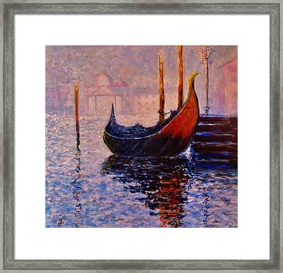 Dreaming Of Venice.. Framed Print by Cristina Mihailescu