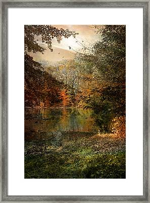 Framed Print featuring the photograph Dreaming Of Yesterdays Gone By by John Rivera