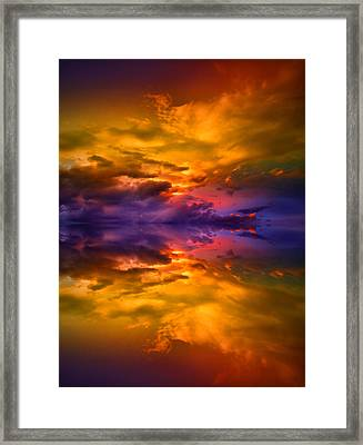 Dreaming Over Water Framed Print by Tara Turner