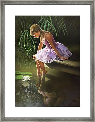 Dreaming Framed Print by Pieter Wagemans