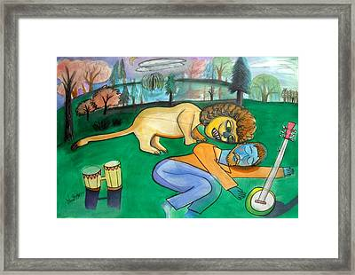 Dreaming Poet Framed Print by Ward Smith