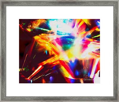 Dreaming Red Framed Print by Hideaki Sakurai