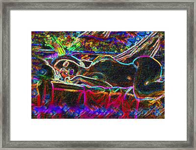 Dreaming Repose Framed Print
