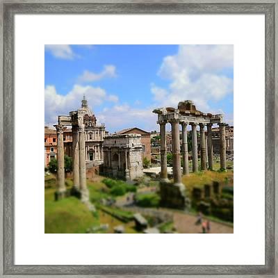 Dreaming Rome Framed Print