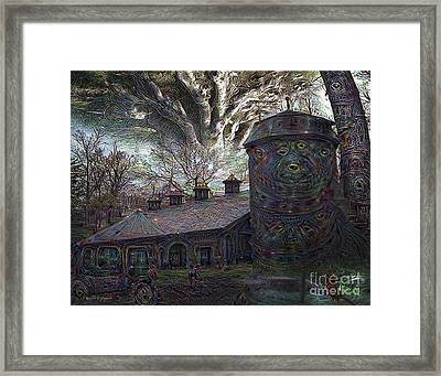 Dreaming Silent Screaming Framed Print