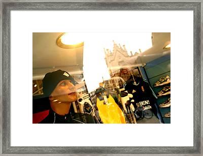 Dreaming Spires Framed Print by Jez C Self