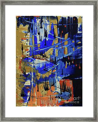 Framed Print featuring the painting Dreaming Sunshine II by Cathy Beharriell