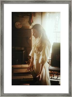 Dreaming Framed Print by TJ Drysdale