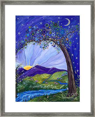 Dreaming Tree Framed Print