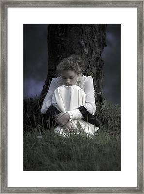 Dreaming Under A Tree Framed Print