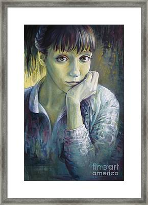 Dreaming With Open Eyes Framed Print