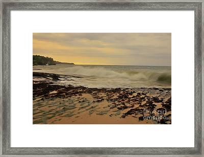 Dreamland Beach Framed Print by Wayan Suantara