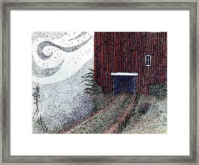 Dreamland Opens Here... Framed Print by Saundra Lee York