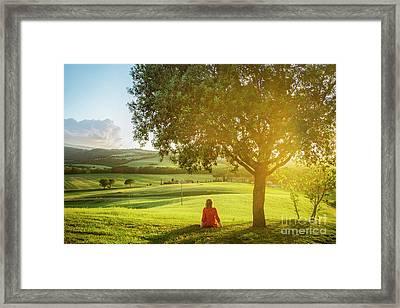 Dreamlight Framed Print