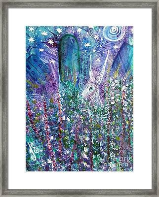 Dreams And Decisions Framed Print by Julie Engelhardt