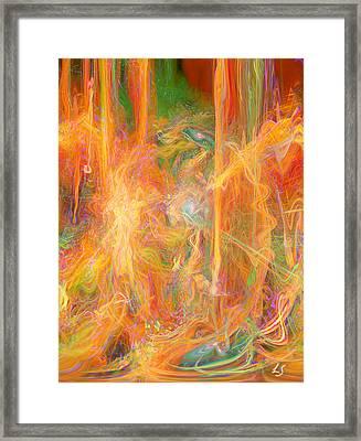 Dreams In Color Framed Print by Linda Sannuti