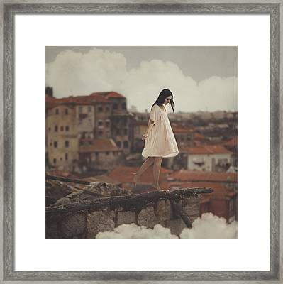 Dreams In Old Porto Framed Print by Anka Zhuravleva