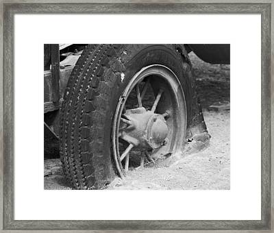 Dreams In The Dust 1 Framed Print by Doug Johnson