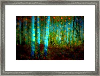 Dreams In The Forest Framed Print