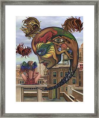 Dreams Lost The Molting Framed Print