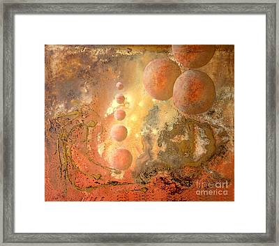 Dreams Of A New World Framed Print by Sonia Flores Ruiz