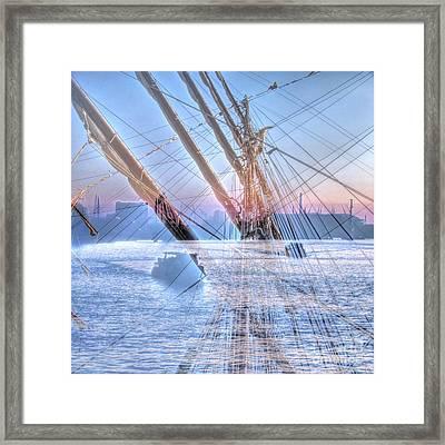 Dreams Of A Sailor Framed Print