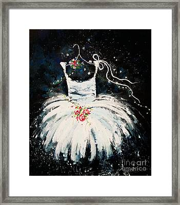 Dreams Of Dancing 2 Framed Print by Angelina Cornidez